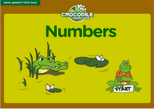 1st grade adlearning numbers online math crocodile board game
