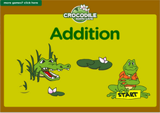 3rd grade addition crocodile online math board game