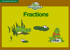 5th grade fractions pirate waters math board game online