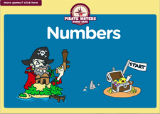 6th grade numbers pirate waters board game online